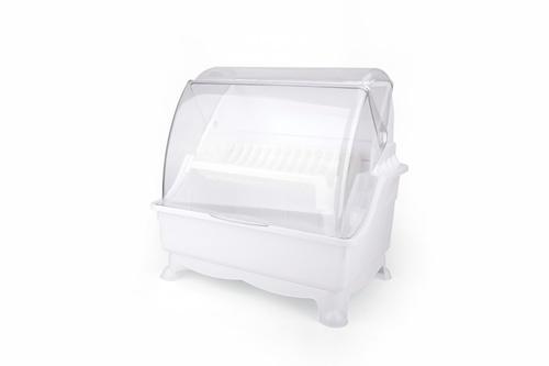GOME ที่คว่ำจาน 34.5x46x46ซม. Pro Kitch03 สีขาว