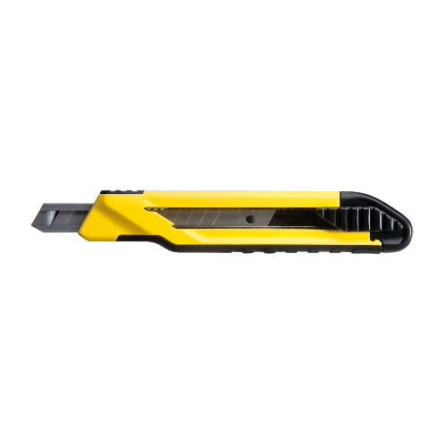 STANLEY มีดคัตเตอร์ออโต้ล็อค แบบทีพีอาร์ 9 มม STHT10264-8 สีเหลือง