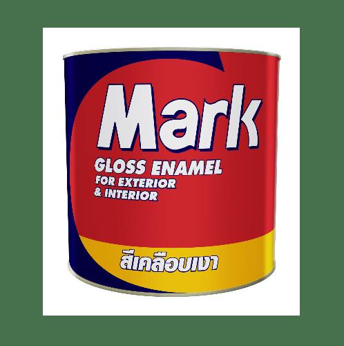 CAPTAIN สีเคลือบเงา มาร์ค #0M855 1/4 กล. สีเขียว
