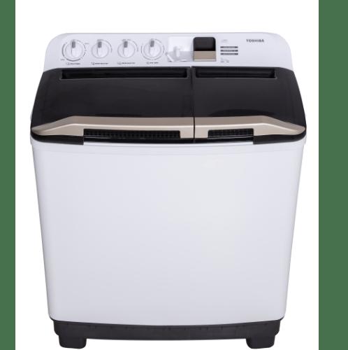 TOSHIBA เครื่องซักผ้า2ถัง ขนาด  15 kg. VH-J160WT สีขาว