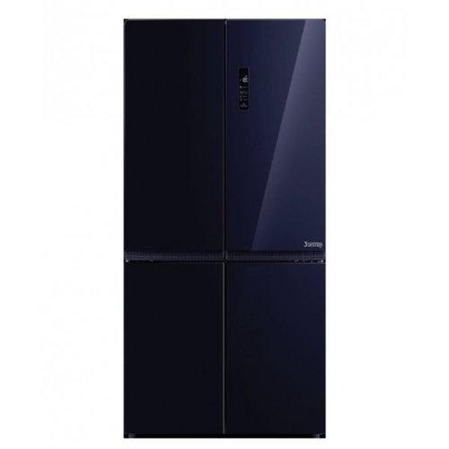 TOSHIBA ตู้เย็น MULTIDOOR 21.9Q  กระจกสีน้ำเงินเข้ม GR-RF646WE-PGT