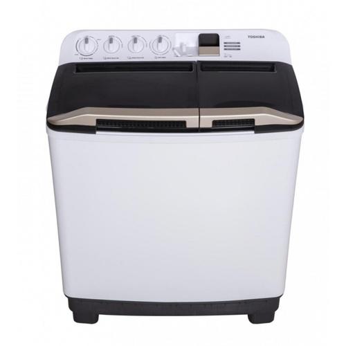 TOSHIBA เครื่องซักผ้า 2 ถัง 11kg.  VH-H120WT สีขาว
