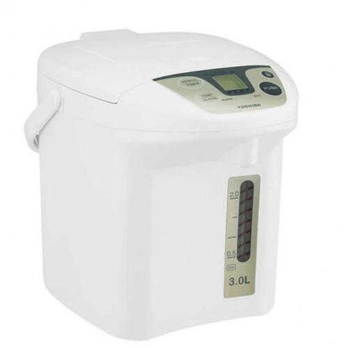 TOSHIBA กระติกน้ำร้อนดิจิตอล 3.0 ลิตร PLK-30FL(WT) สีขาว