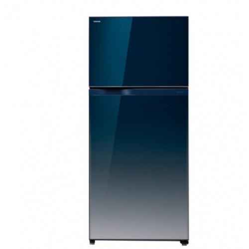TOSHIBA ตู้เย็น 2 ประตู 18.0 คิว GR-HG55KDZ(GG)