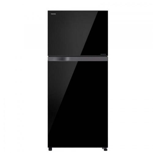TOSHIBA ตู้เย็น 2 ประตู 18.0 คิว GR-HG55KDZ(XK) สีดำ