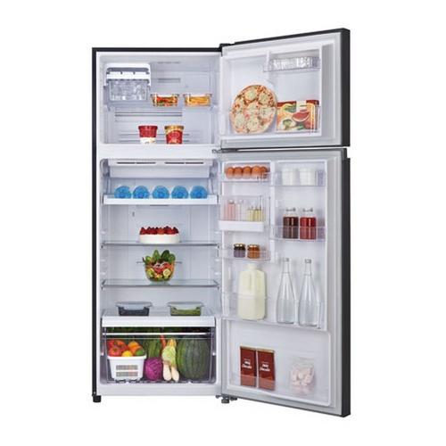 TOSHIBA ตู้เย็น 2 ประตู 14.6 คิว GR-AG46KDZ(XK) สีดำ