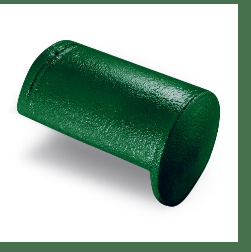 ตราเพชร ครอบปิดจั่ว CTเพชร รุ่น แกรนออนด้า ขนาด 20.5x33 ซม. สีเขียวผ่องใส