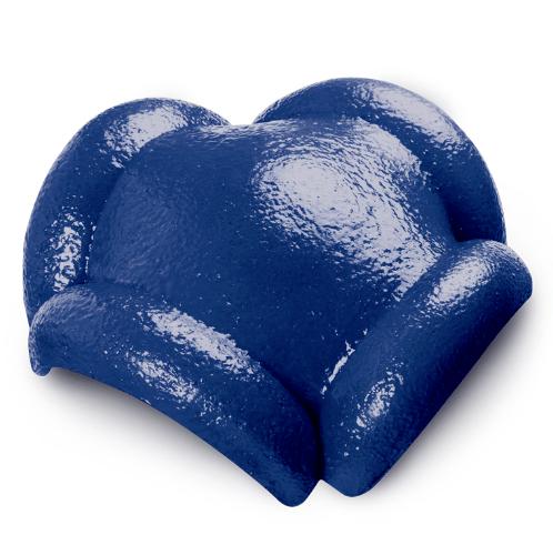 ตราเพชร ครอบสันโค้ง 4 ทาง CTเพชร รุ่น แกรนออนด้า ขนาด 37x36 ซม. สีฟ้ารุ่งนิรันดร์