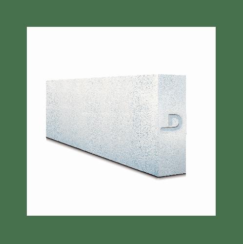 ตราเพชร บล็อคมวลเบา   ขนาด 20x60x12.5 ซม.  สีขาว