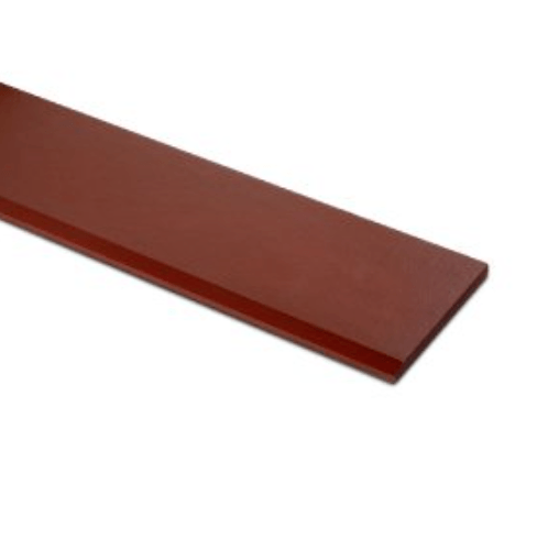 ตราเพชร เชิงชายเพชร ขนาด  1.6x15x300ซม. แดงทับทิม