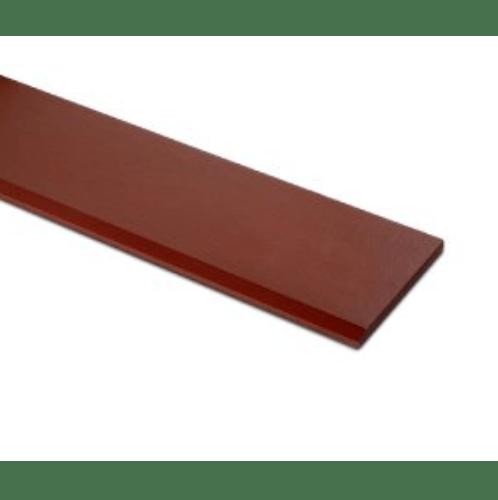 ตราเพชร เชิงชายเพชร  ขนาด 1.6x20x300ซม. แดงทับทิม