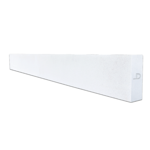 ตราเพชร คานทับหลัง  ขนาด  20x120x10 ซม. สีขาว