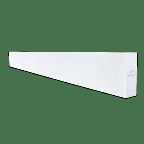 ตราเพชร คานทับหลัง   ขนาด 20x270x10 ซม. สีขาว