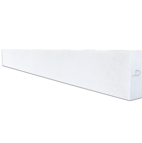 ตราเพชร คานทับหลัง ขนาด  20x210x12.5 cm สีขาว