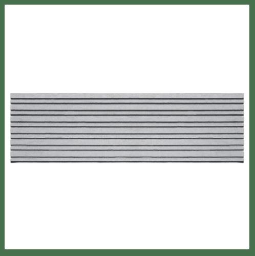 ตราเพชร ไม้ตกแต่งเซาะร่อง 0.8x30x240 ซม. TrueColor 2 สีขาว