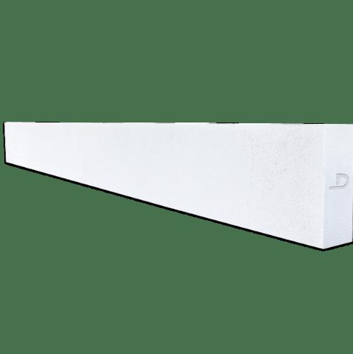 ตราเพชร คานทับหลัง ขนาด 20x360x17.5 cm สีขาว