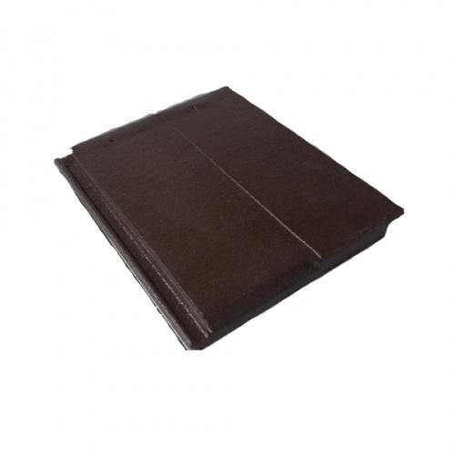 ตราเพชร กระเบื้องอดามัส แบบเรียบร่อง สีน้ำตาลแบล็ควูค  Adamas Chalet Shake Tile Black Wood Brown