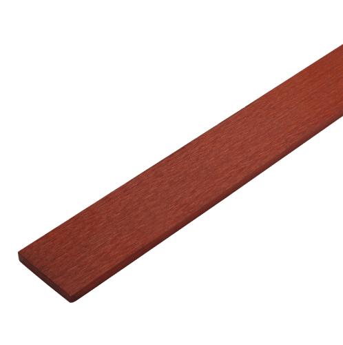 ตราเพชร ไม้รั้ว ลายเสี้ยน รุ่น หัวตรง หน้า 4 นิ้ว ยาว 1 ม. ขนาด 1.5x10x100 ซม. แดงประกายทอง