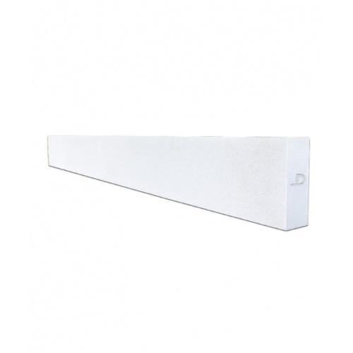 ตราเพชร คานทับหลัง ขนาด 20x210x15cm Lintel สีขาว