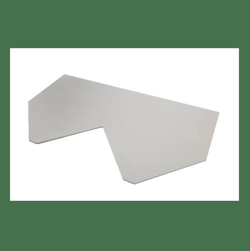 ตราเพชร กระเบื้องเจียระไน รุ่นไทยโมเดิร์น ขนาด 80x45x0.6 ซม สีขาวไข่มุก