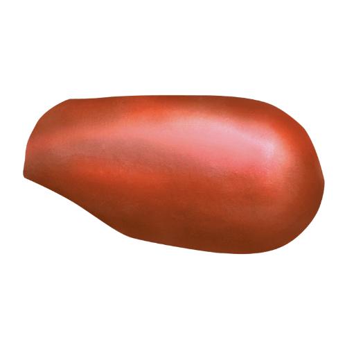 ตราเพชร ครอบสันโค้งหางมนแบบเว้า กระเบื้องลอนคู่ ขนาด 23.5x40.5 ซม. สีส้มประกายเพชร