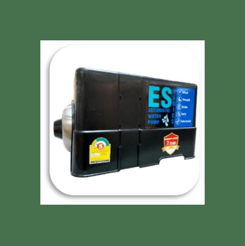 EUROE ปั๊มน้ำอัตโนมัติ 500 วัตต์ (เสียงเงียบ+น้ำร้อน&น้ำเย็น) ES-500 สีดำ
