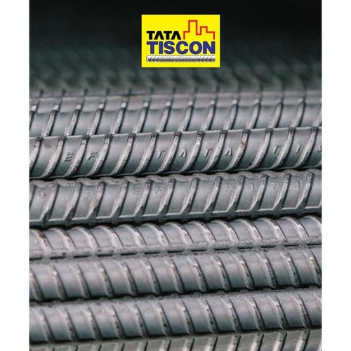 TATA เหล็กข้ออ้อยต้านแผ่นดินไหว-ตรง 20มม. ยาว 10 เมตร SD40 Super Ductile สีเทา