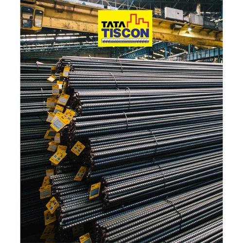 TATA เหล็กข้ออ้อยต้านแผ่นดินไหว-ตรง 12 มม. ยาว 12 เมตร SD40 Super Ductile สีเทา