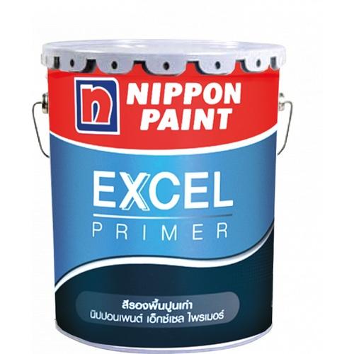 NIPPON สีรองพื้นปูน Excel Primer