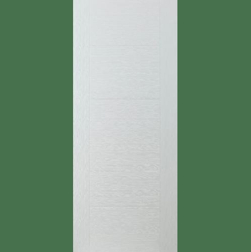 Vanachai ประตู HDF ใช้ภายนอก ขนาด 80x200cm. ทำสีรองพื้น   ITG