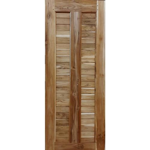 SJK ประตูไม้สัก ขนาด 80x200ซม.  SJK003