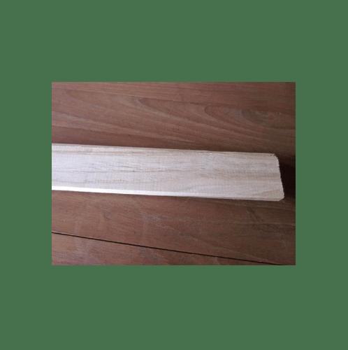 - ไม้สักไสเรียบไม้สักไสเรียบ 3/8นิ้วx1.1/4นิ้วx7ft SJK17