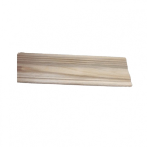 - ไม้บัวบนไม้สัก ลายน้อย  ขนาด 1/2นิ้ว x3นิ้ว x1.80ม.  SJK54