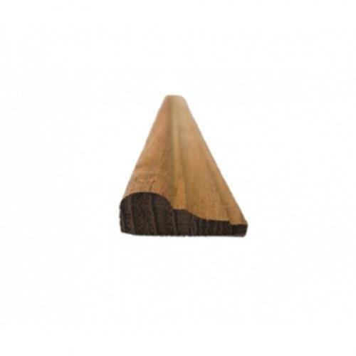 - ไม้คิ้วไม้สัก ขนาด  1/2นิ้ว x1นิ้ว x9ft SJK36