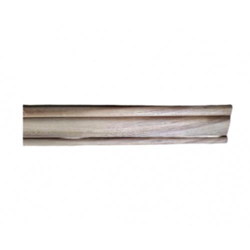 SJK ไม้คิ้วตกแต่งไม้สัก(วงกบ) ขนาด  5/8นิ้ว x2นิ้ว x2.00ม. SJK40