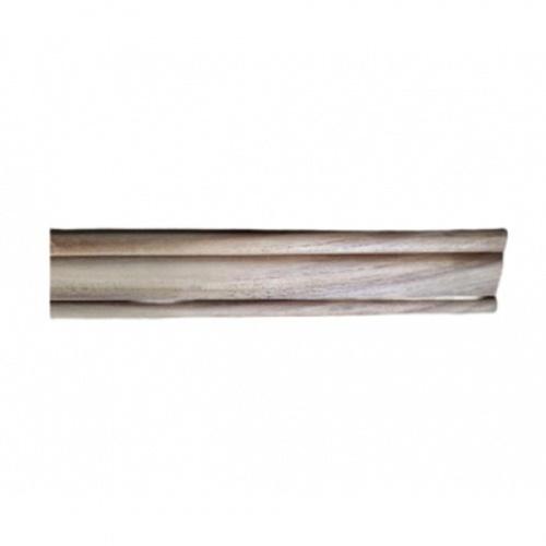 -  ไม้คิ้วตกแต่งไม้สัก(วงกบ)  ขนาด 5/8นิ้ว x2นิ้ว x2.50ม. SJK40