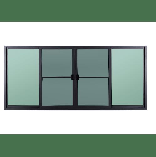 A-Plus หน้าต่างบานเลื่อนเปิดกลาง ขนาด 2.15x1.60ม. SAHARA
