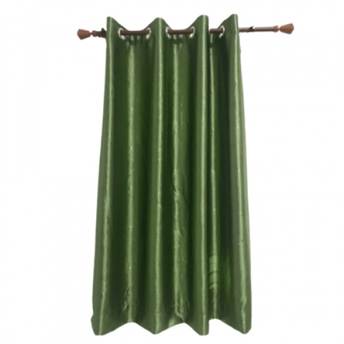 Davinci ผ้าม่านหน้าต่าง ขนาด (150 x 160 ซม.) Y6079-11 สีเขียว