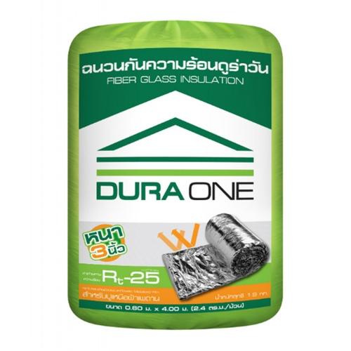 Dura one ฉนวนกันความร้อน 3 นิ้ว ขนาด 0.60x4.0 ม.