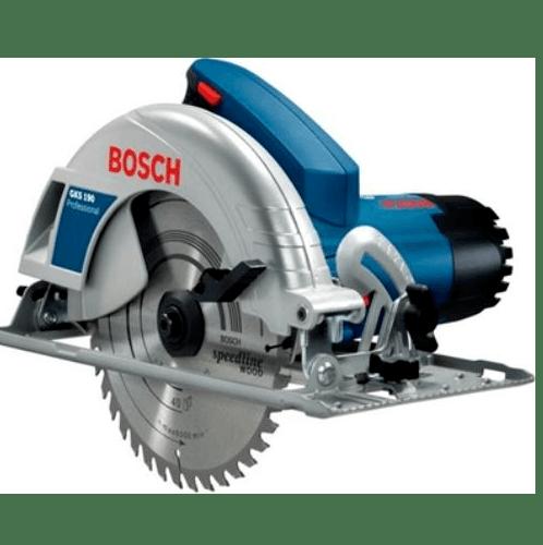 BOSCH เลื่อยวงเดือน 1400 วัตต์ GKS 190  น้ำเงิน