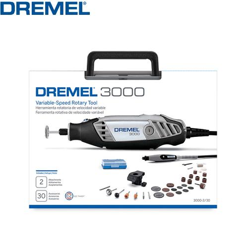 Dremel เครื่องเจียร์มือ   3000-2/30 สีเทา