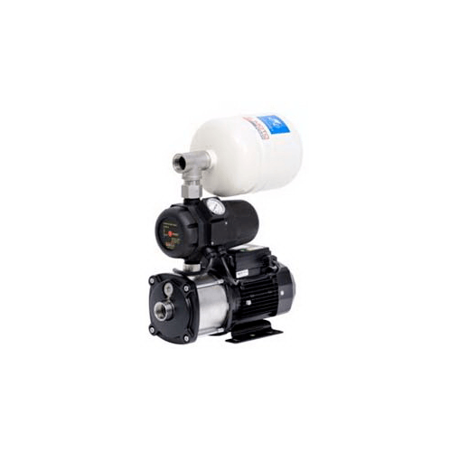 SUMOTO POMPA ปั๊มน้ำอัตโนมัติแรงดันคงที่แบบ Flow switch 370 วัตต์ MICRO BOOST 370 เงิน-ดำ