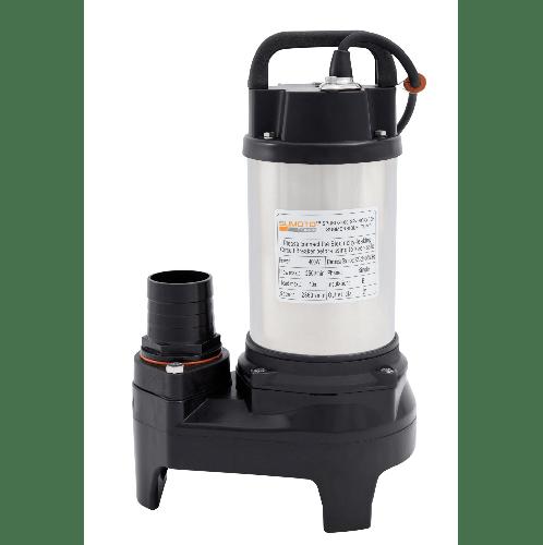 SUMOTO POMPA  ปั๊มจุ่มน้ำสะอาด และน้ำเค็ม 400 วัตต์ INOX400 สีโครเมี่ยม