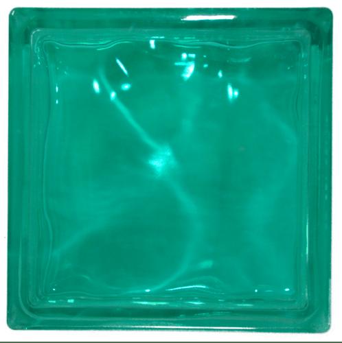 ช้างแก้ว บล็อกแก้วสี แก้วนภา  N-016/943  สีเขียว