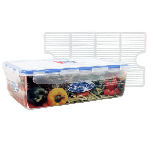 Superlock กล่องอาหาร ขนาด 1800ml. 5014