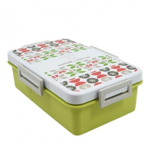SUPER LOCK กล่องถนอมอาหารพร้อมช้อนส้อม  9197