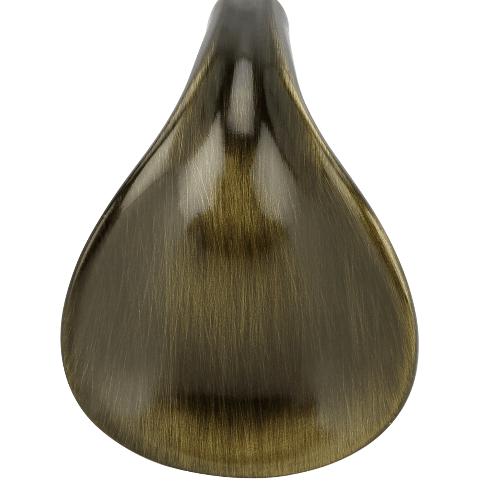 HAFELE ปุ่มจับเฟอร์นิเจอร์ซิงค์อัลลอยด์ ขนาด 44.8x37.6 มม. สีทองเหลืองรมดำ 481.22.153