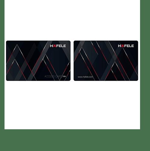 HAFELE  คีย์การ์ด สำหรับชุดล็อคประตูระบบดิจิตอล 499.22.901 สีดำ