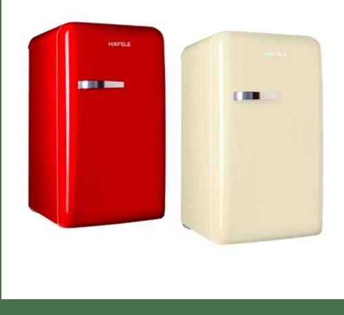 HAFELE ชุดเซ็ทตู้เย็น 2 เครื่อง/เซ็ท 495.07.161 สีแดงและสีครีม