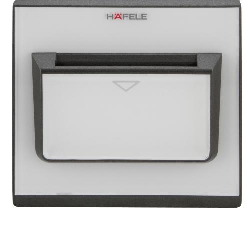 HAFELE อุปกรณ์ควบคุมพลังงาน ชุดรับคีย์การ์ด 917.56.981